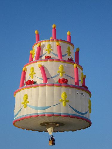 Awe Inspiring Birthday Cake Shape Hot Air Balloon For Outdoor China Hot Air Funny Birthday Cards Online Elaedamsfinfo