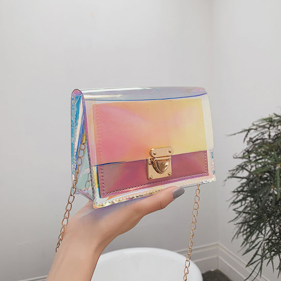Women Handbag Pvc Jelly Purse