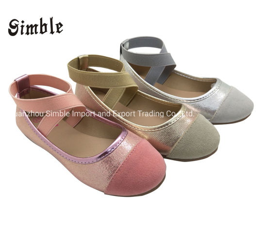 Girls Fashion Flat Ballet Shoes with Soft Outsole