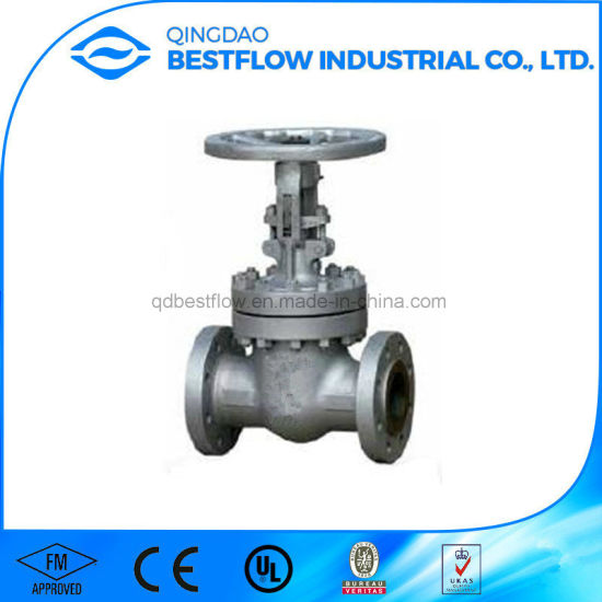API 600 Cast Iron Steel Solid Wedge Industrial Gate Valve pictures & photos