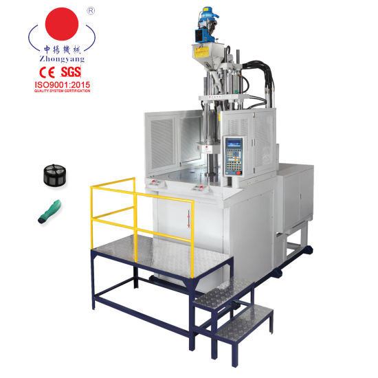 Servo Motor Rotary Table Vertical Plastic Mould 120ton Injection Machine