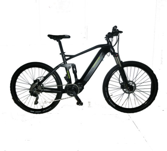 Full Suspension Electric Bike with Central Motor Newest 8 Fun Motor Electric Bicycle pictures & photos