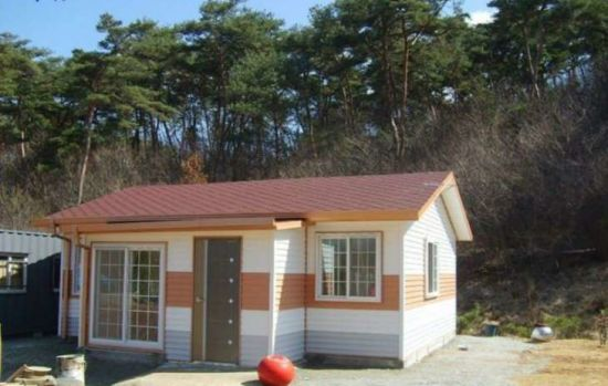 Korean Modern Prefab Home Kits Modular Factory Built Homes