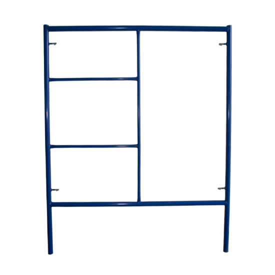 ANSI Certified Building Material Construction High Quality Drop Lock Ladder Frame Scaffold (CSLFDL)