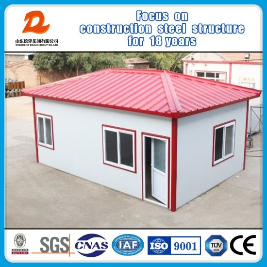 Modern Temporary Prefabricated Cabin for Family Houses pictures & photos