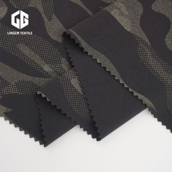 Camouflage Printed Fabric Knitted Fabric for Sublimation Heat Transfer Process