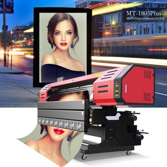 1.8m Digital Printing Machine Eco Solvent Printer for Flex Banner Vinyl Mt-1805 Plus
