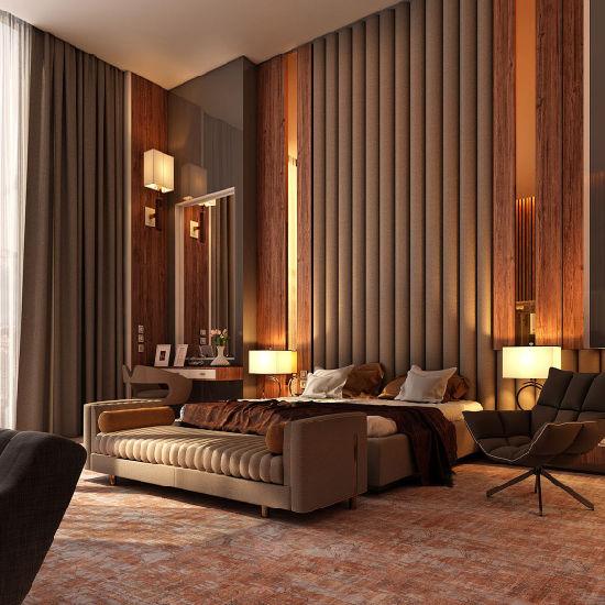 China Luxury Superior Modern Design Hotel Furniture Oak Wood Bedroom Set China Oak Wood Bedroom Set Modern Design Hotel Furniture