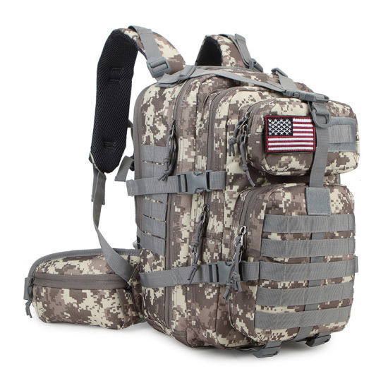 Military Camouflage Backpack Picnic Bag