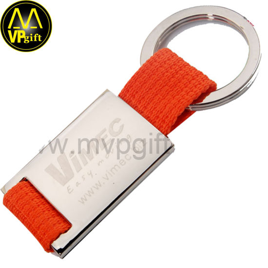 Custom Metal Blank Promotion Lanyard Key Chain for Gift pictures & photos