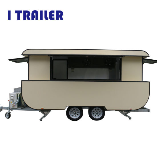 International Standard Catering Truck Utility Mobile Food Trailer Truck