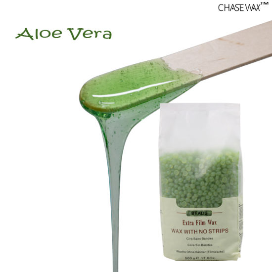 China Hard Wax Aloe Vera Best Professional Wax for Hand Hair