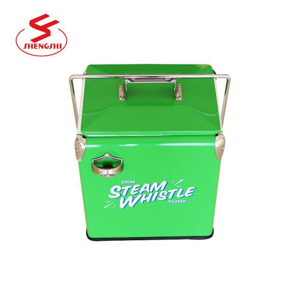 Vintage Cooler Traveler Ice Chest