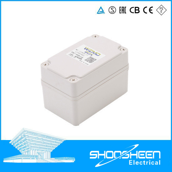 ABS Plastic Sealed Electrical Outdoor IP67 Waterproof Terminal Junction Box