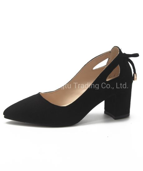 Big Size Single Shoes Woman High Heel Shoes Dress Shoes pictures & photos