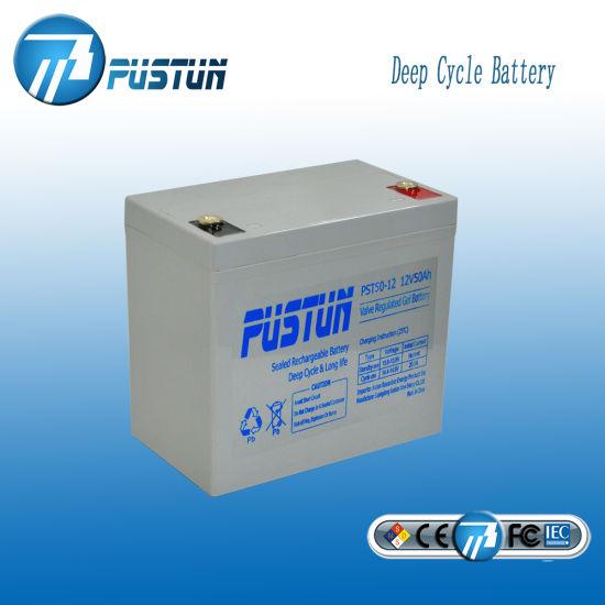 Wholesale Solar Home Storage Use 12V 50ah Lead Acid Battery