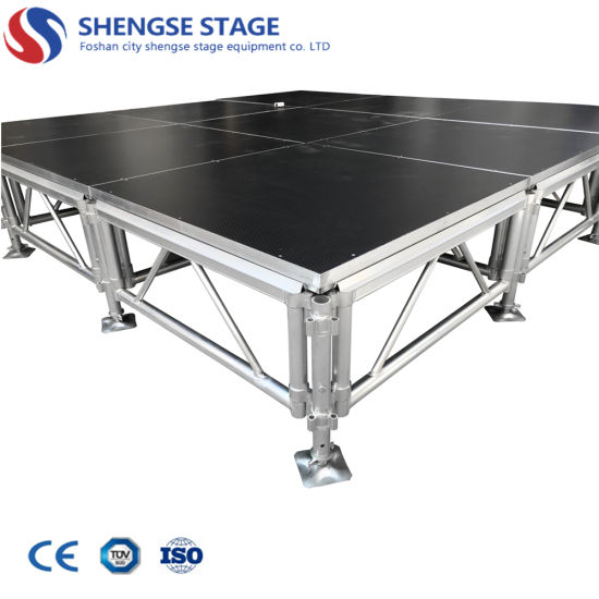 4FT*4FT Easy Assamble Aluminum Stage for Concert Event and Outdoor Performance
