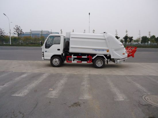 Yueda 3T Compactor Garbage Rubbish Truck pictures & photos