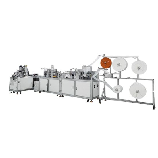 Made in Korea Kf94 Fish Design Electric Control Full Automatic Children Adult Use Mask Making Machine