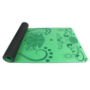 Non-Slip Eco-Friendly Amazon Popular Sales Natural Rubber PU Yoga Mats Wholesale