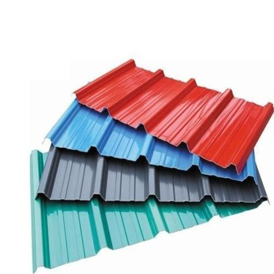 Corrugated Ral Color Prepainted Galvanized Metal Roofing Sheet