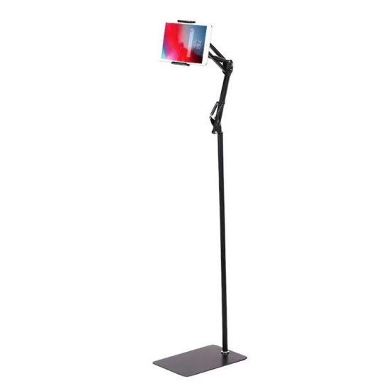 Gooseneck Stand Heavy Duty Steel Mobile Stand Tablet Floor Holder