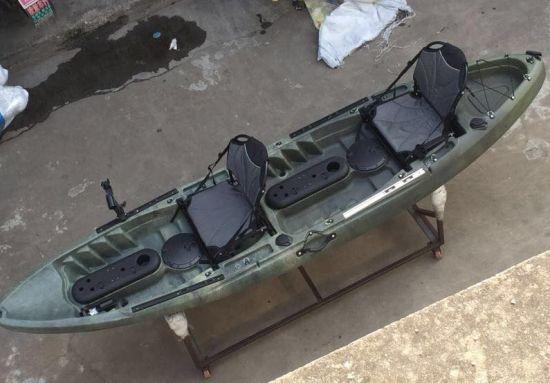 2 Seats Plastic Rowing Fishing Kayak Boat Wholesale