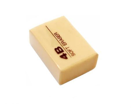 School Office Pencil 4b Rubber Eraser for Stationery