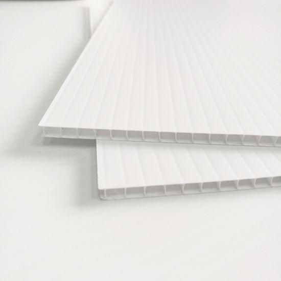 Moisture Proof Waterproof Odorless Hollow Plastic PP Corrugated Sheet