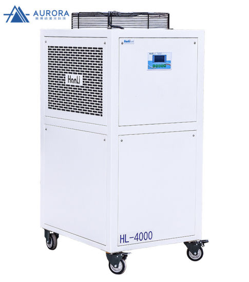 High Quality Hanli Water Cooling Machine Water Chiller Hl-4000 4000W