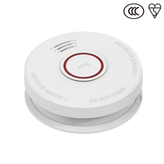 Jbe Battery Operated Photoelectric Smoke Fire Alarm