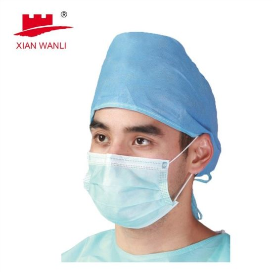 Surgical/Hospital/Medical/Protective/Safety/Nonwoven 4ply Activated Carbon Dust/Paper/Dental/SMS/Mouth 3ply Disposable Face Mask with Elastic Ear-Loops/Tie-on