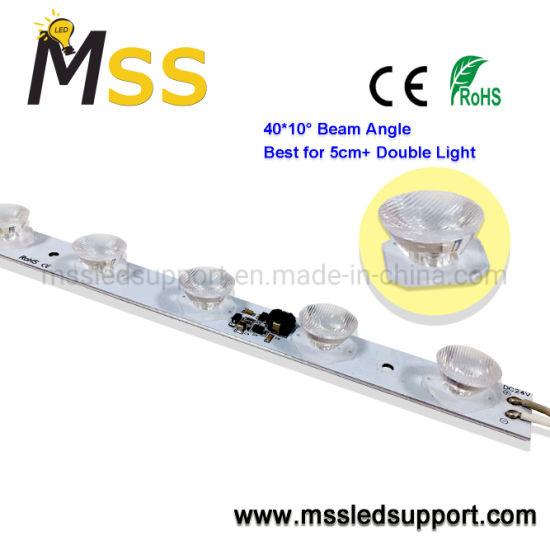 High Power LED Edge Light Rigid Bars for Double Side Light Box Whose Depth +5cm
