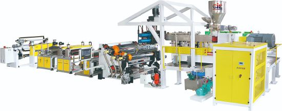 PLA Pet PS PP Sheet Extruder Extrusion Extruding Making Machine
