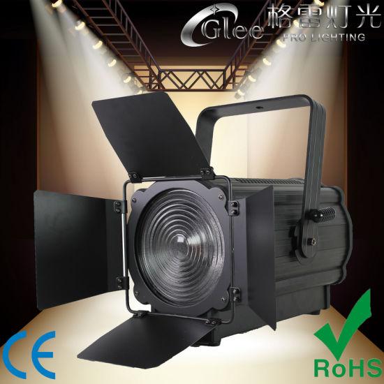 Professional 200W RGBW LED Auto Electric Zoom Fresnel Theatrical Spot