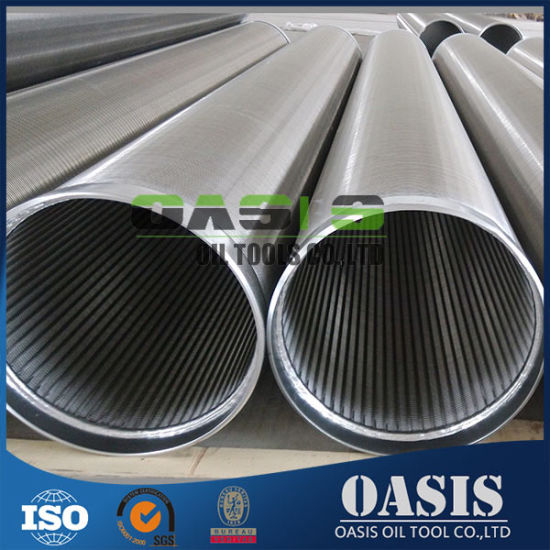Well Drilling 316L Stainless Steel Wedge Wire Screens with Thread pictures & photos