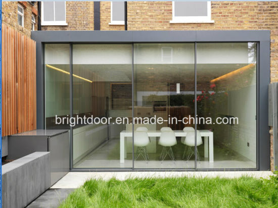 China Sliding And Folding Internal Glass Doorsframeless Glass Doors