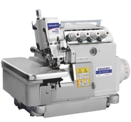 Sk-Ex5200d-4 Super High-Speed Direct Drive Overlock Sewing Machine