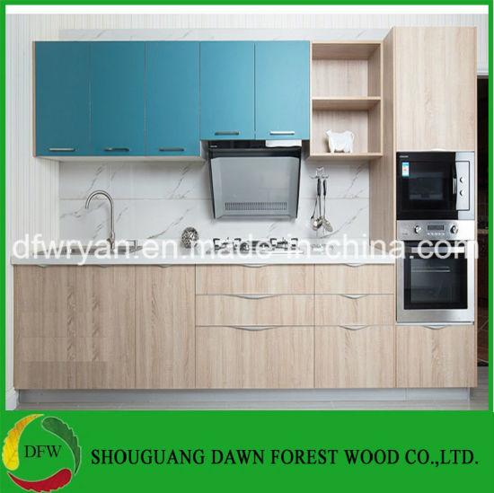 china modern design small kitchen cabinet melamine kitchen cabinets rh dfwryan en made in china com