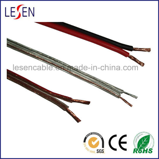 Speaker Wire with Oxygen-Free Copper and Tinned Copper or CCA Conductor Cable pictures & photos