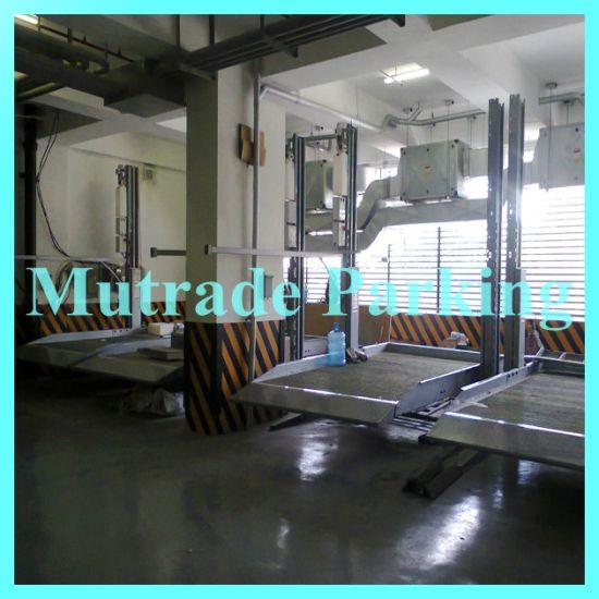 China mutrade parking simple two post hydraulic home garage car lift