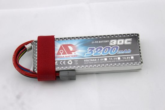 3200mAh 11.1V Helicopter Plane R/C Model Battery pictures & photos