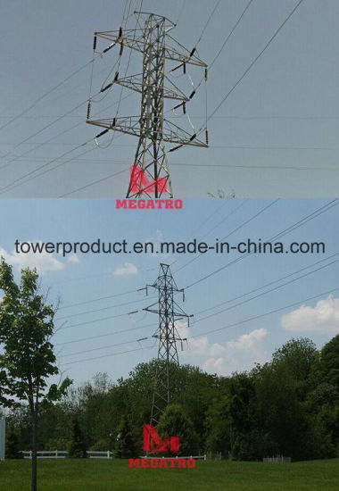 Megatro 138kv Double Circuit Angle Tower (MGP-DCA138)