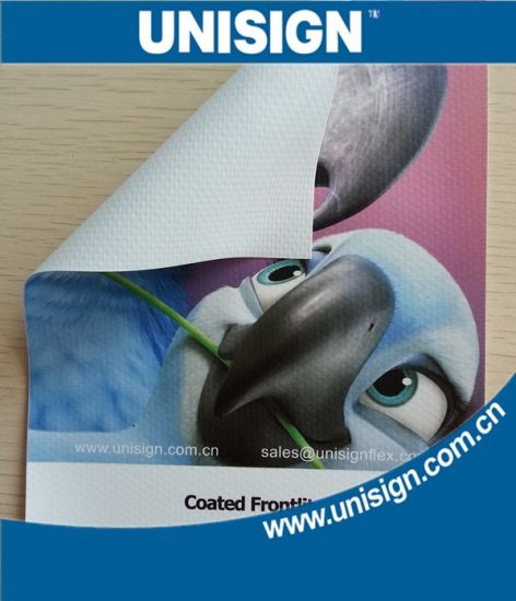 Unisign Super Smooth PVC Laminated Frontlit Advertising Banner pictures & photos