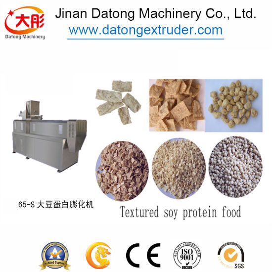 Different Capacity Soya Protein Extrusion Machine pictures & photos