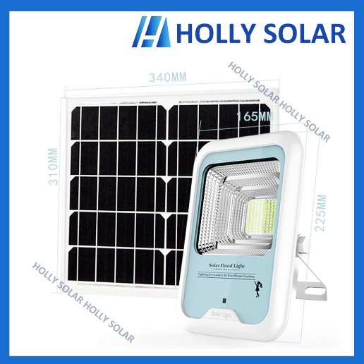 Solar LED Floodlight 6W Courtyard Light with Remote Control