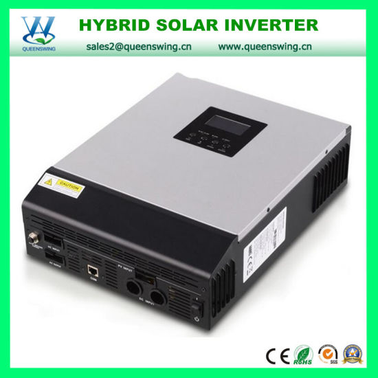 4kVA Pure Sine Wave Hybrid Solar Power Inverter with 50A PWM Solar Charger Controller (QW-4kVA4850) pictures & photos