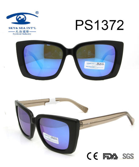Wholesale Beautiful Japanese Square Sunglasses (PS1372) pictures & photos