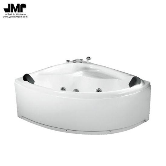 China Sanitary Ware Bathroom Bath Tub Corner Jacuzzi Massage Bathtub ...