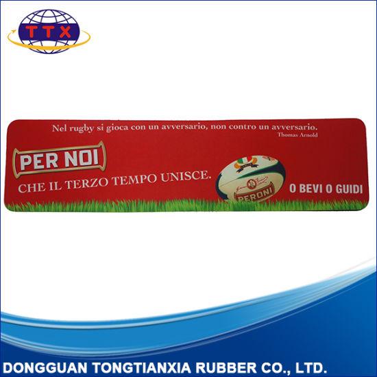 Promotion Nature Foam Rubber Bar Runner Mat